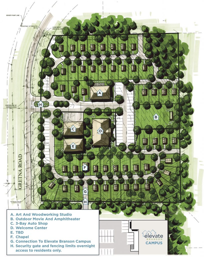 Elevate Community Site Plan
